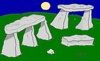 Cartoon: Stonehenge and stone (small) by yasar kemal turan tagged stonehenge,stone,love