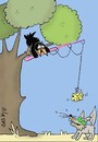 Cartoon: trap (small) by yasar kemal turan tagged trapfox,and,crow