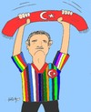 Cartoon: Treacherous attack (small) by yasar kemal turan tagged treacherous,attack