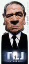 Cartoon: Tommy Lee Jones (small) by Jeff Stahl tagged tommy,lee,jones,men,in,black