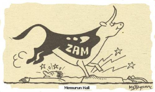 Cartoon: civil servant (medium) by korgun tagged zam,memur