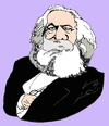 Cartoon: Karl Marx (small) by Fusca tagged marxism,grouxo,maxxx