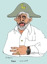 Cartoon: Lula Bonaparte (small) by Fusca tagged dictator hegemonic party emperor