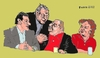 Cartoon: Lula da Silva Gang (small) by Fusca tagged crime,corruption,lula,bolivarian,latrocracy,brazil