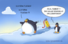 Cartoon: pinguinhelium (small) by ChristianP tagged pinguinhelium
