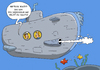 Cartoon: UBOOT-TOILETTE (small) by ChristianP tagged submarine,toilet