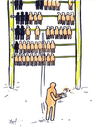 Cartoon: No limits (small) by Monica Zanet tagged free,zanet
