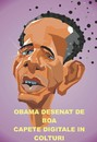 Cartoon: Barac Obama (small) by boa tagged cartoon,boa,caricature,artboa,funny,humor,comic,romania