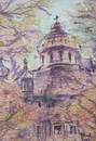 Cartoon: Bild from Craiova (small) by boa tagged painting,color,oil,boa,romania,painter,landscape