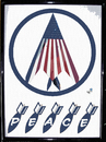 Cartoon: Peace part two (small) by Zoran Spasojevic tagged digital,collage,graphics,america,usa,flag,bomb,emailart,spasojevic,paske,war,peace,kragujevac,serbia