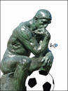 Cartoon: Thinker 2010 (small) by Zoran Spasojevic tagged emailart digital collage graphics thinker spasojevic zoran paske kragujevac serbia