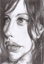 Cartoon: Liv Tyler (small) by Joen Yunus tagged caricature,drawing,famous