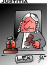 Cartoon: justice (small) by SAI tagged justice