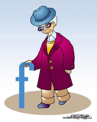 Cartoon: zuckerbook (medium) by sezer odabasioglu tagged zuckerbook