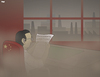 Cartoon: Hazy Outlook (small) by Tjeerd Royaards tagged china,environment,smog,pollution,policy,factories,economy,growth