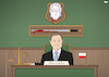 Cartoon: Judicial reform in Poland. (small) by Tjeerd Royaards tagged poland,lady,justice,judge,law,duda,reform,eu,europe