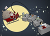 Cartoon: Merry Christmas (small) by Tjeerd Royaards tagged christmas,china,labor,workers,santa,apple,disney