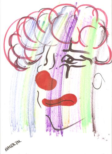 Cartoon: clown (medium) by Seydi Ahmet BAYRAKTAR tagged clown