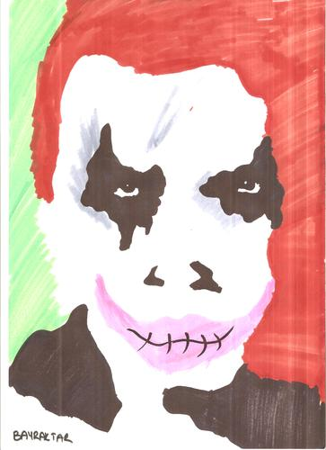 Cartoon: Joker (medium) by Seydi Ahmet BAYRAKTAR tagged joker