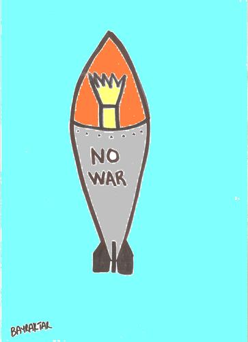 Cartoon: NO WAR (medium) by Seydi Ahmet BAYRAKTAR tagged no,war