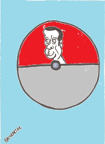 Cartoon: Pokemon attention instead may ta (medium) by Seydi Ahmet BAYRAKTAR tagged pokemon,attention,instead,may,tayyip