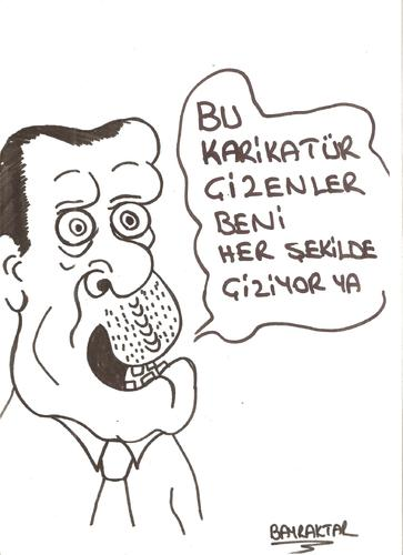 Cartoon: RECEP (medium) by Seydi Ahmet BAYRAKTAR tagged recep