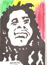 Cartoon: BOB MARLEY (small) by Seydi Ahmet BAYRAKTAR tagged bob,marley