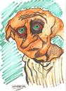 Cartoon: DOBBY (small) by Seydi Ahmet BAYRAKTAR tagged harry,potter