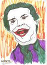 Cartoon: JOKER  Jack Nicholson (small) by Seydi Ahmet BAYRAKTAR tagged joker
