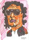 Cartoon: KADDAFI (small) by Seydi Ahmet BAYRAKTAR tagged kaddafi