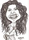 Cartoon: SHAKIRA (small) by Seydi Ahmet BAYRAKTAR tagged shakira