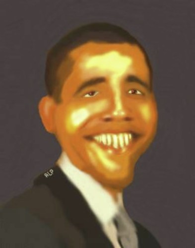 Cartoon: Obama (medium) by Alpi Ayaz tagged obama,barrack,usa,president