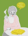 Cartoon: unknown woman (small) by popmom tagged smoking,woman