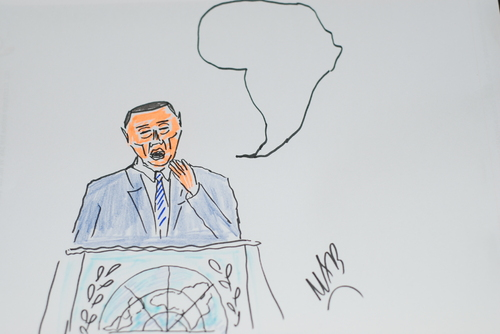 Cartoon: afrika (medium) by MSB tagged afrika