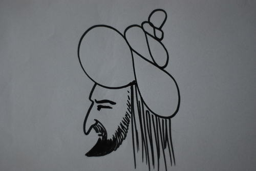 Cartoon: Fatih (medium) by MSB tagged dünya