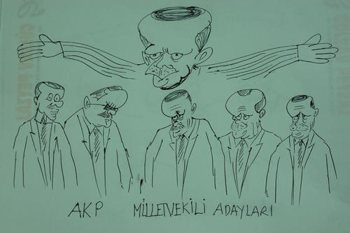 Cartoon: SECIM-2011 (medium) by MSB tagged secim