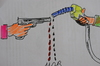 Cartoon: kan ve petrol (small) by MSB tagged kan,ve,petrol