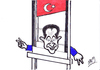 Cartoon: SARKOZYAN (small) by MSB tagged sarkozyan