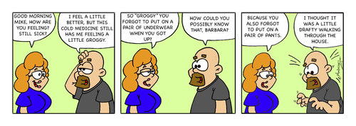 Cartoon: Pants (medium) by Gopher-It Comics tagged couples,married,hitched,ambrose,gopherit