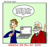 Cartoon: Miracle on 34th st 2010 (small) by Gopher-It Comics tagged gopherit ambrose santaclaus christmas