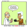 Cartoon: Rash of Khan (small) by Gopher-It Comics tagged gopherit,ambrose,startrek,khan