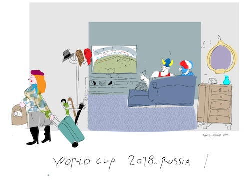 Cartoon: Going home (medium) by gungor tagged russia