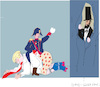 Cartoon: Abraham Lincoln (small) by gungor tagged usa