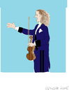 Cartoon: Andre Rieu (small) by gungor tagged music