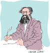 Cartoon: Charles Dickens (small) by gungor tagged literature