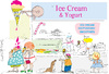 Cartoon: Eis cream (small) by gungor tagged consumer