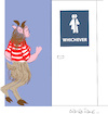 Cartoon: Faun (small) by gungor tagged usa