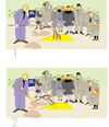 Cartoon: Funeral (small) by gungor tagged daly,life