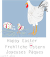 Cartoon: Happy Easter 2020 (small) by gungor tagged easter,2020