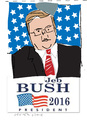 Cartoon: Jeb Bush (small) by gungor tagged usa